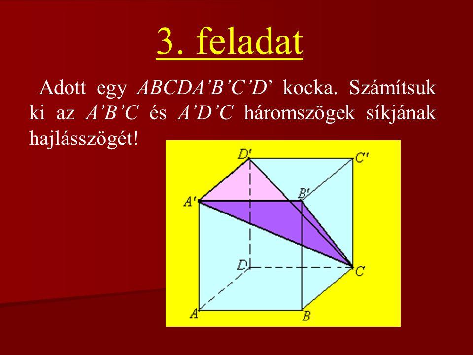 Tükrözzük az A pontot O-ra;Most kössük össze A'-t F-fel.