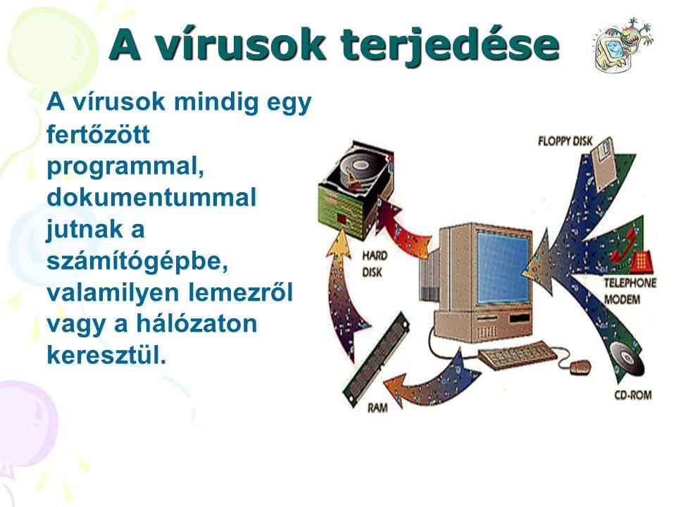 Valós veszélyek Vírusfertőzés esetén:  hardware tönkretétele  adatvesztés, adatok összekeveredése  szerver leállás, lebénulás (pl.