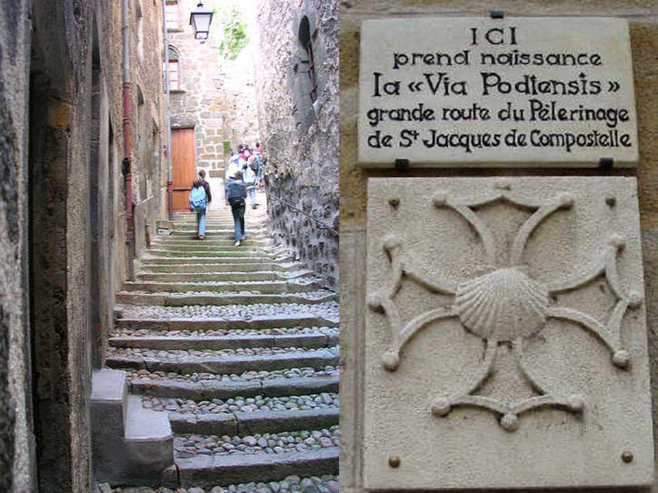 A Santiago de Compostelába menö zarándokút a kultúrális örökség része.
