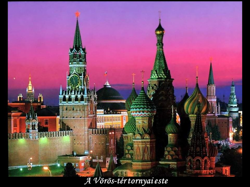 Történeti Múzeum-Vörös tér-Moszkva