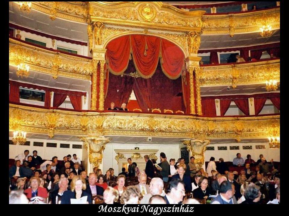 Bolsoj Teátr-Nagy Színház-Moszkva