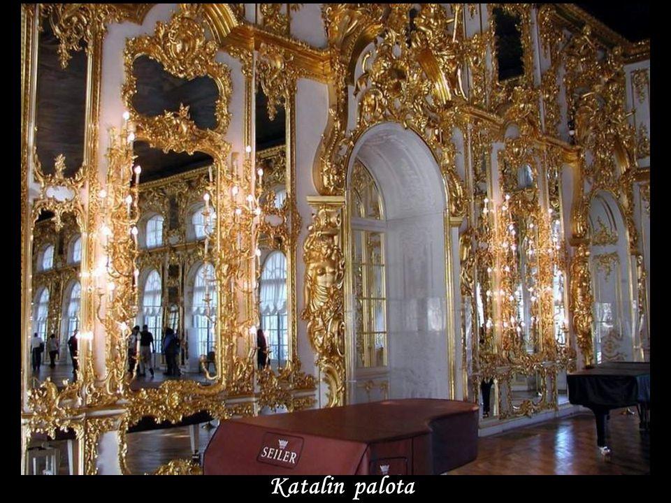 Katalin palota- Puskino