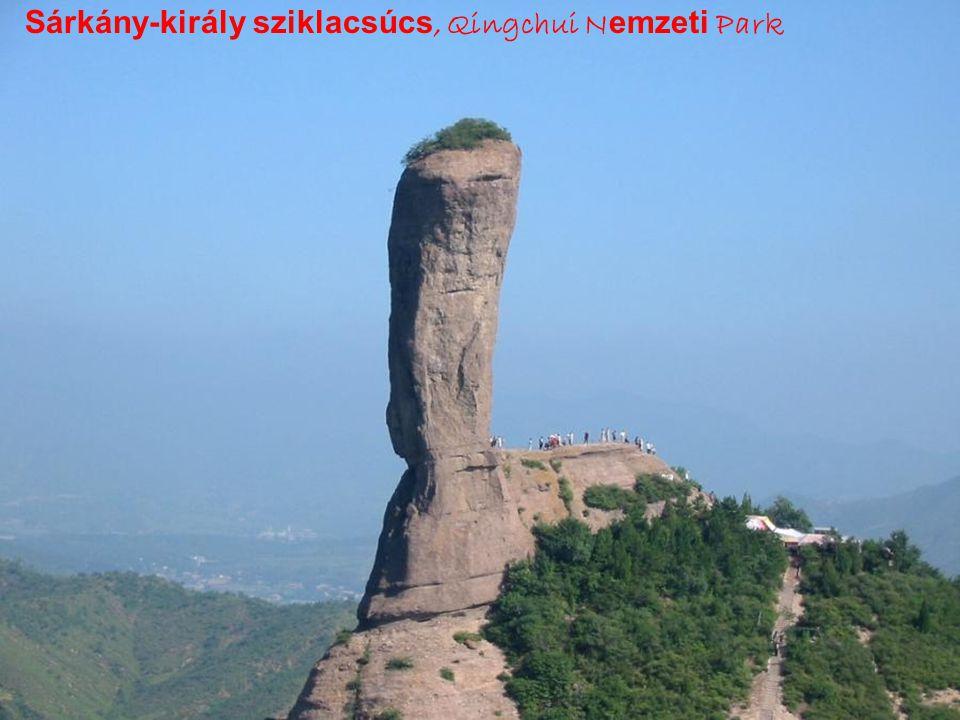 Path,Mt.Huangshan-Nyugati völgy-