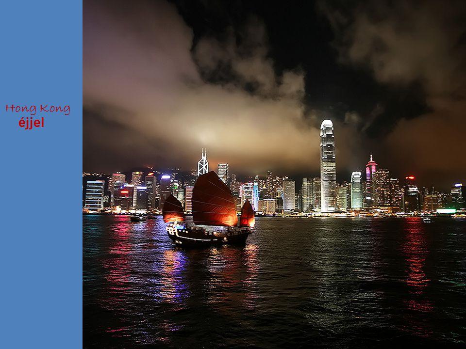 Hong Kong éjjel