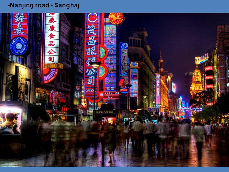-Nanjing road - Sanghaj