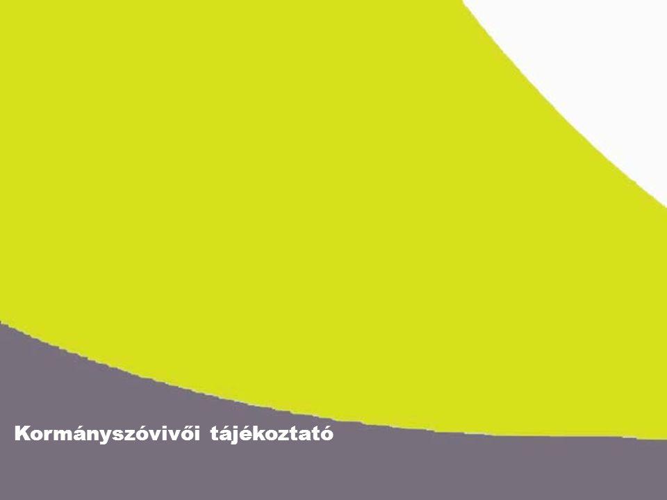 Kormányszóvivői tájékoztató 2005.