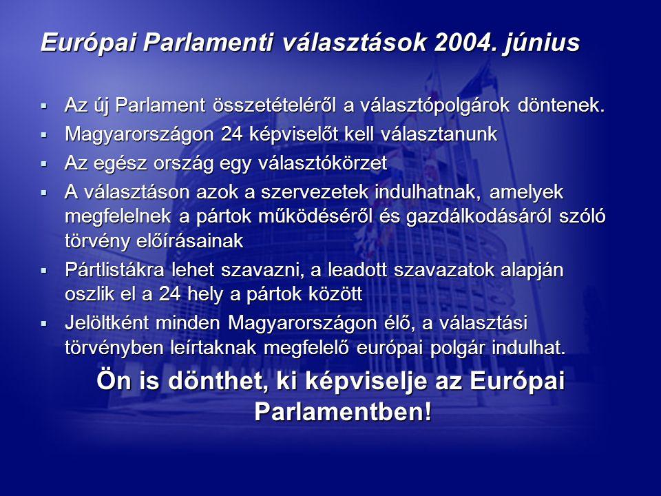 Európai Parlamenti választások 2004.