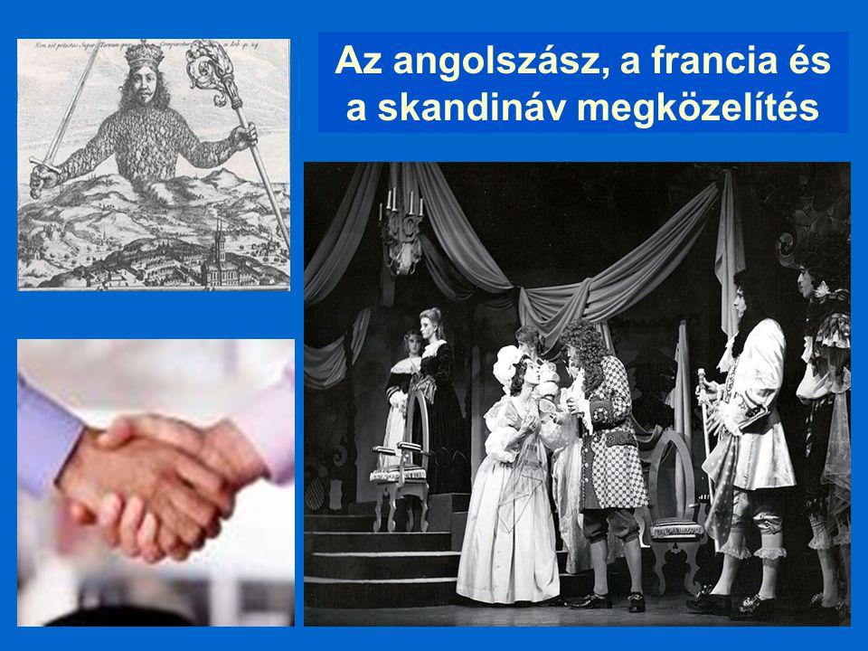 Az angolszász, a francia és a skandináv megközelítés