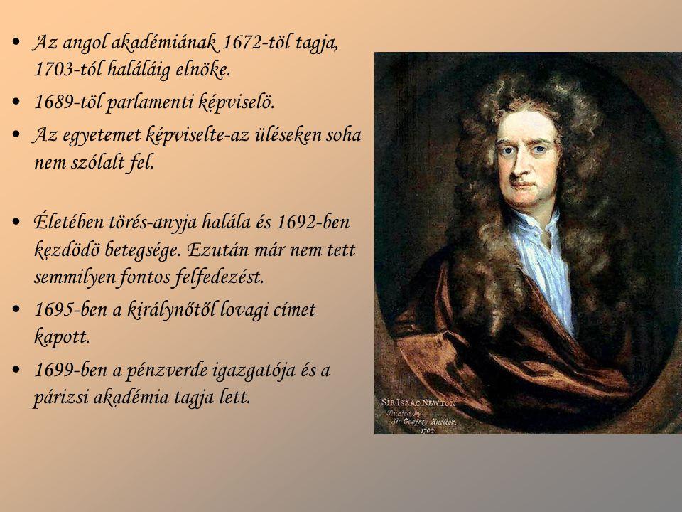 Az angol akadémiának 1672-töl tagja, 1703-tól haláláig elnöke. 1689-töl parlamenti képviselö. Az egyetemet képviselte-az üléseken soha nem szólalt fel