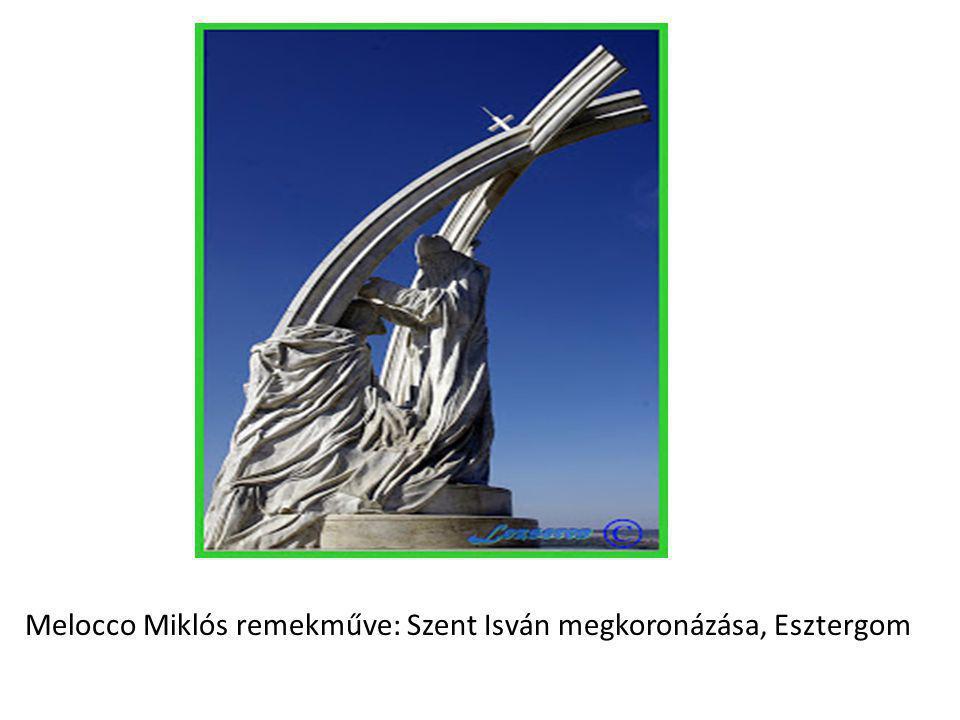 Melocco Miklós remekműve: Szent Isván megkoronázása, Esztergom