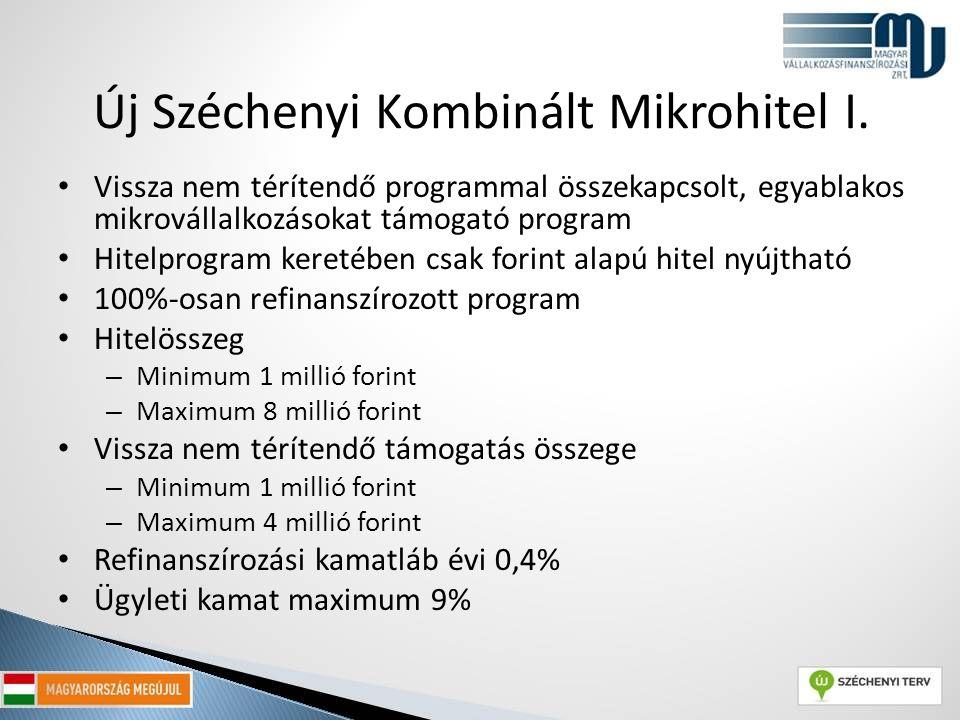Új Széchenyi Kombinált Mikrohitel I.