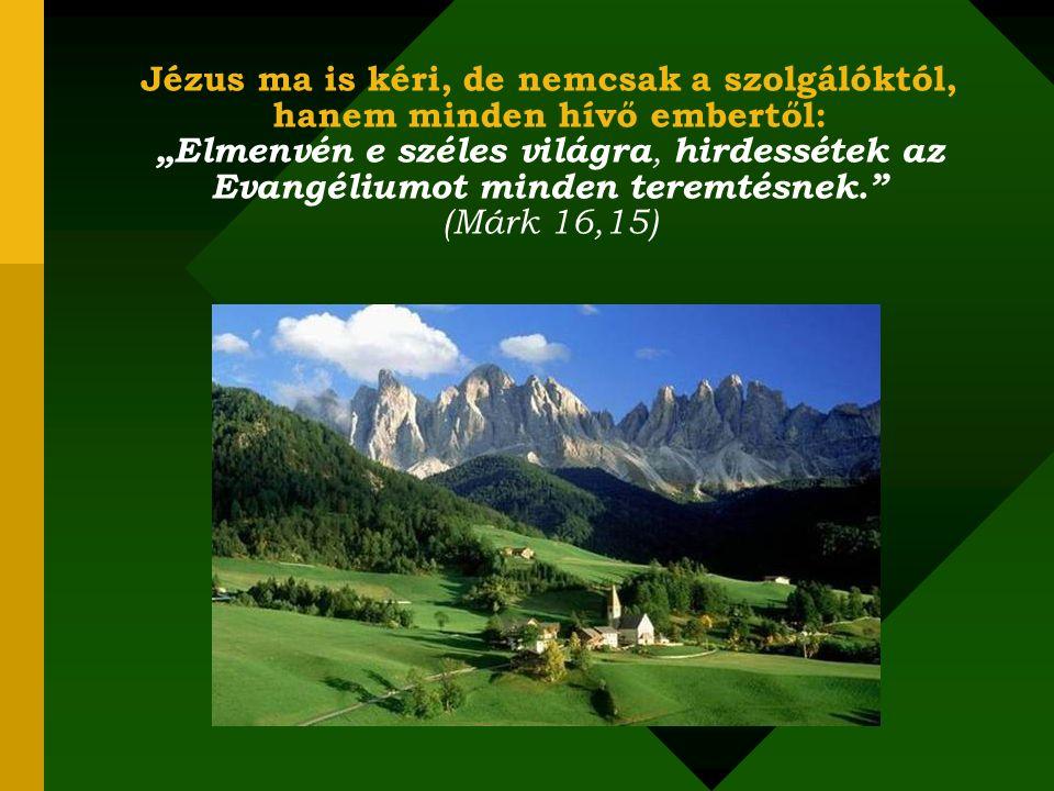 Ha megtesszük, amire Isten elhívott bennünket, keresztényeket, szinte garantált, hogy nem lesznek sokáig elveszettek!