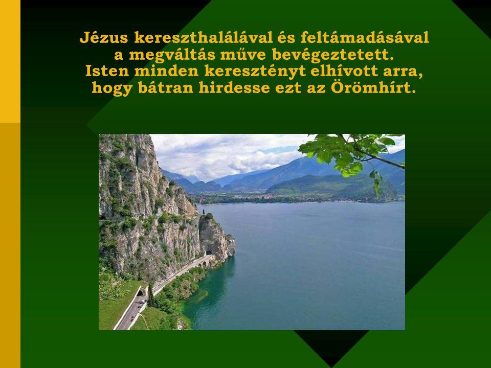 """Jézus ezt olvasta fel a zsinagógában: """"Az Úrnak Szelleme van énrajtam, mivelhogy felkent engem, hogy a szegényeknek az Evangéliumot hirdessem, elküldött, hogy a töredelmes szívűeket meggyógyítsam, hogy a foglyoknak szabadulást hirdessek és a vakok szemeinek megnyílását, hogy szabadon bocsássam a lesújtottakat, hogy hirdessem az Úr kegyelmének esztendejét. (Luk."""