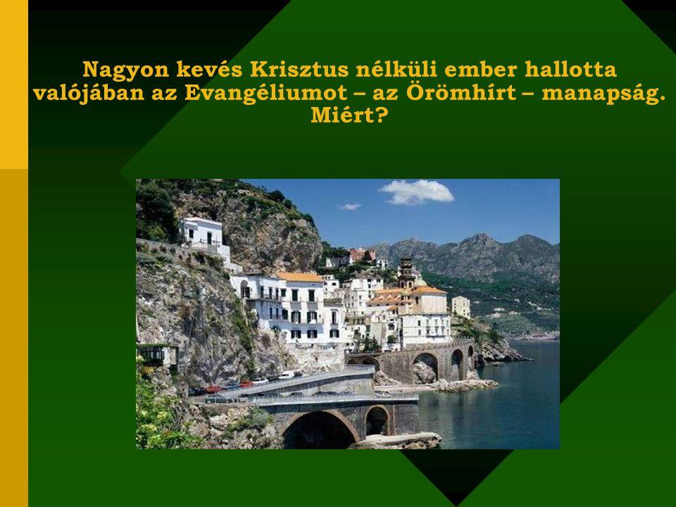 MONDD EL A JÓ HÍRT! Bibliai gondolatok - olasz tájakkal és zenei aláfestéssel
