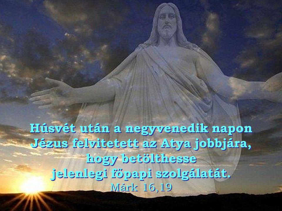 Krisztus harmadnapra feltámadt halottaiból az Írások szerint, és felemeltetéséig negyven napon át megjelent a tanítványoknak. Sok jel által meg is mut