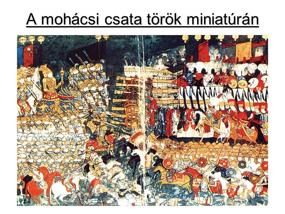 A mohácsi csata török miniatúrán