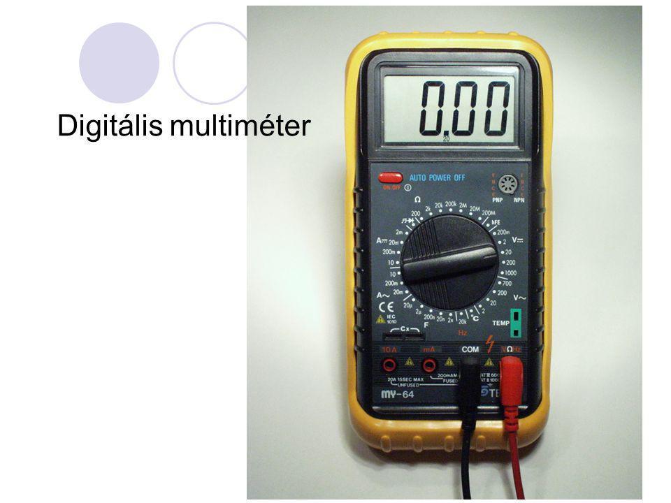 Digitális multiméter