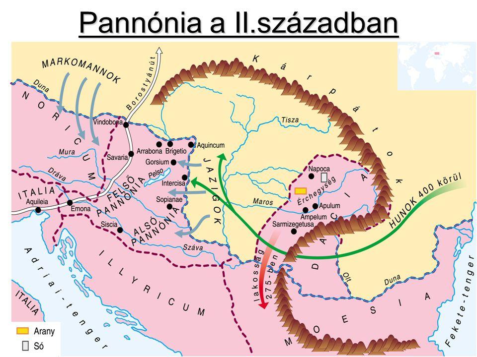 Pannónia a II.században