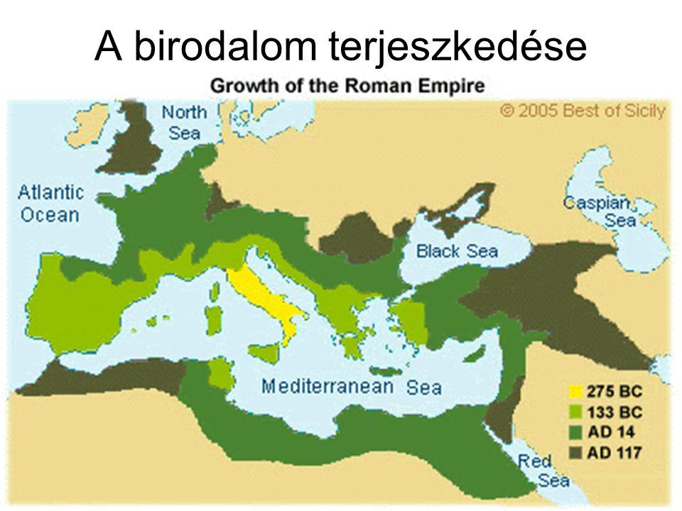 A birodalom terjeszkedése