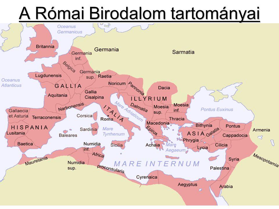 A Római Birodalom tartományai