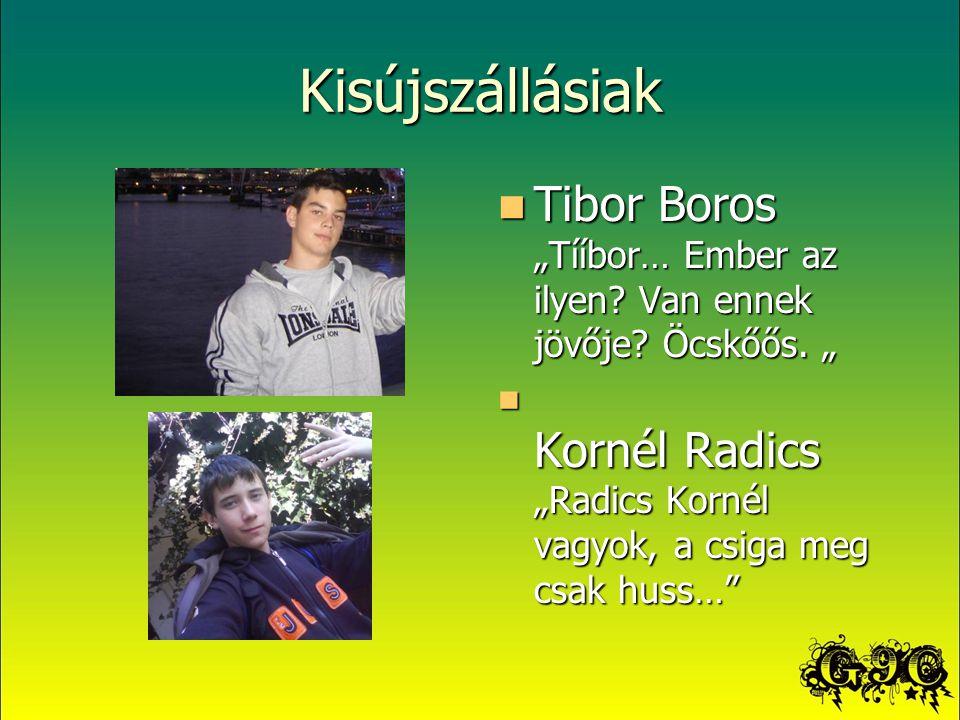 """Kisújszállásiak Tibor Boros """"Tííbor… Ember az ilyen."""