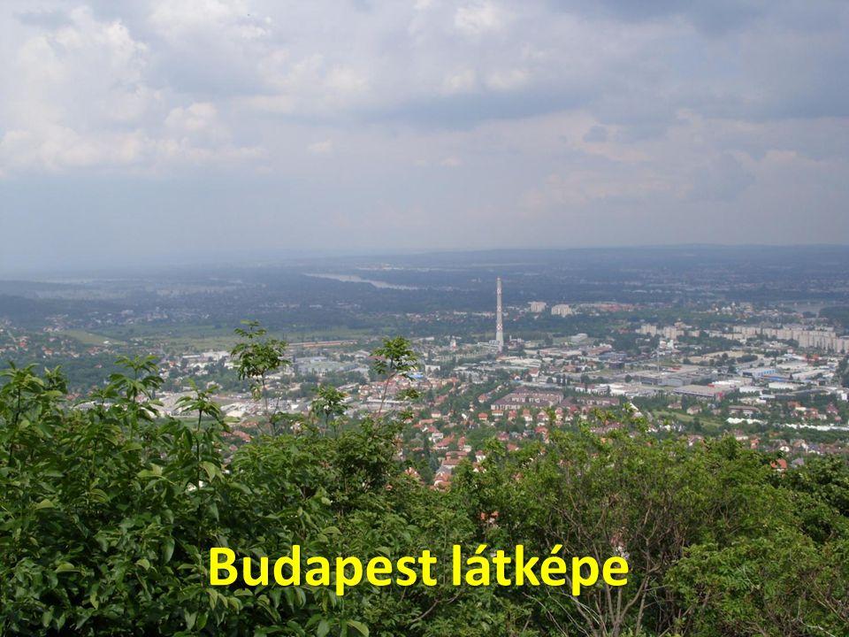 Budapest látképe