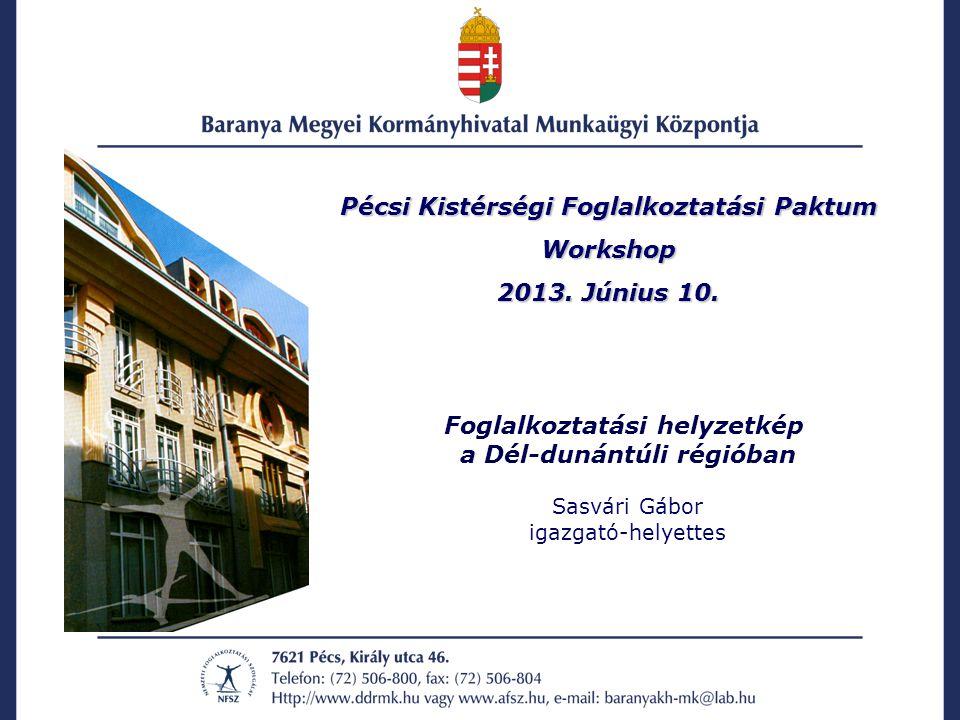 Pécsi Kistérségi Foglalkoztatási Paktum Workshop 2013.