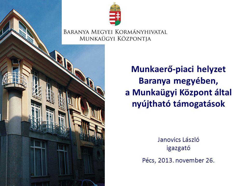 Janovics László igazgató Pécs, 2013.november 26.