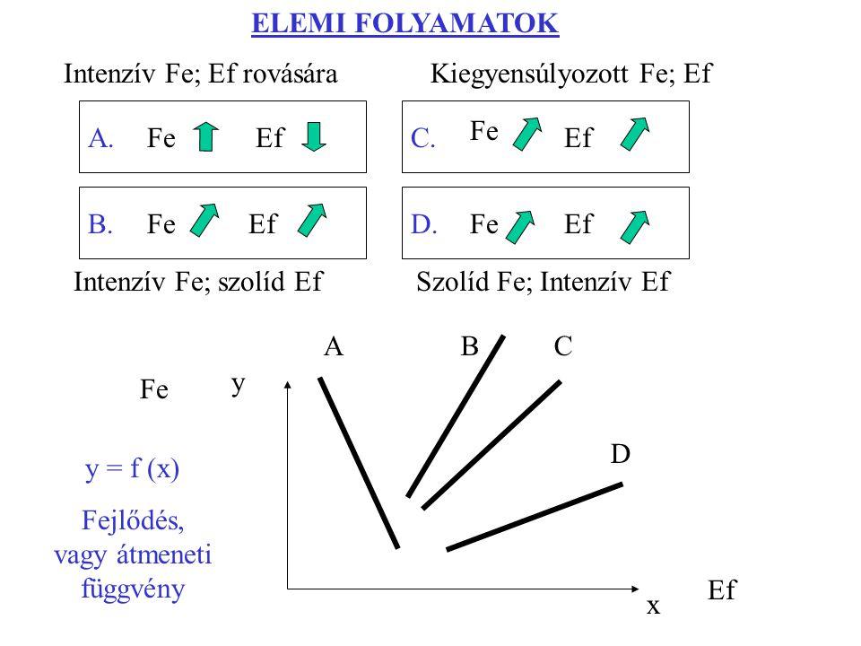 ELEMI FOLYAMATOK x y ABC D A. B. C. D.