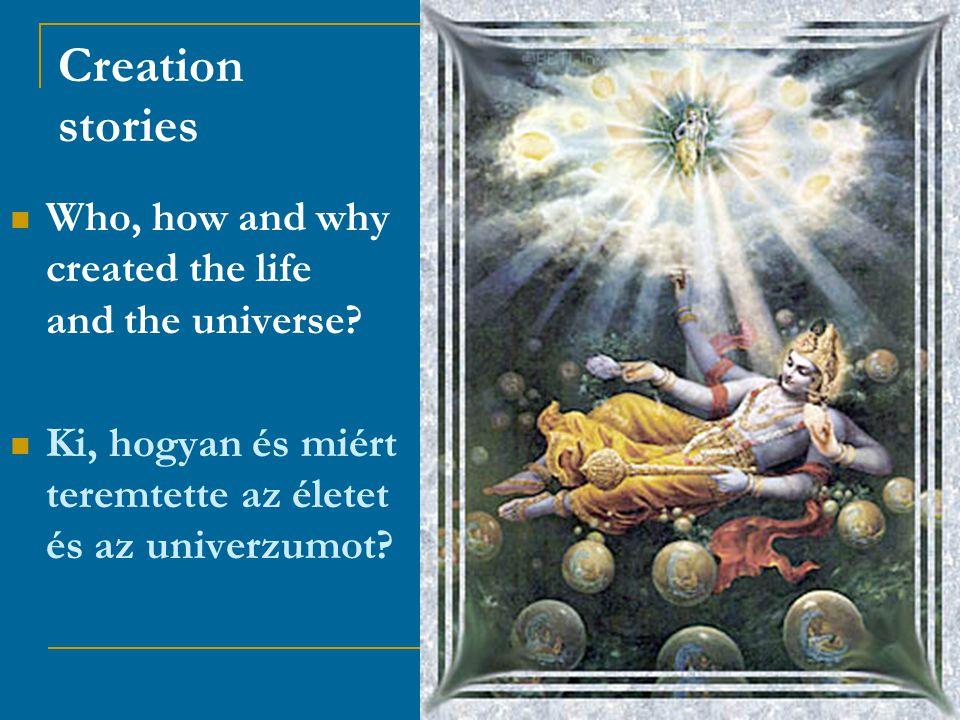Contribution to the Dialogue of Science and Religions Hozzájárulás a tudomány és vallás párbeszédéhez