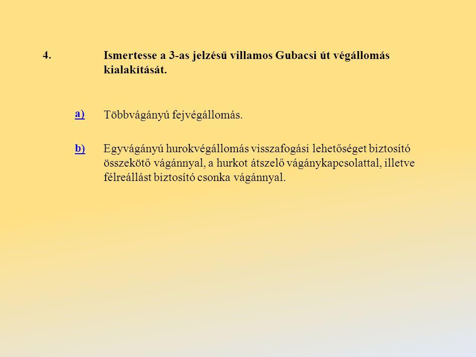 15.Milyen jelzőberendezés van üzembe helyezve Újpalota, Erdőkerülő utca végállomáson.