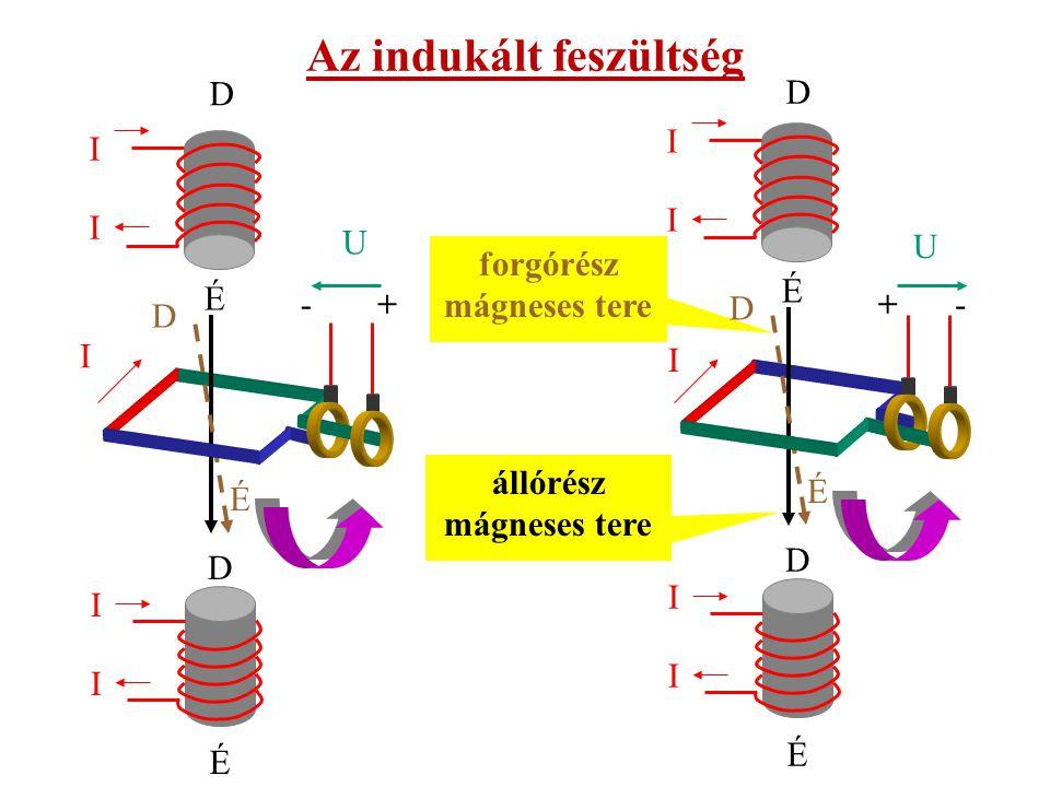 A váltakozó feszültség egyenirányítható, ha forgórész tekercsének kivezetéseit nem csúszógyűrűkhöz, hanem két, egymástól szigetelőanyaggal elválasztott, gyűrű alakúra készített rézlemezhez kapcsolják.