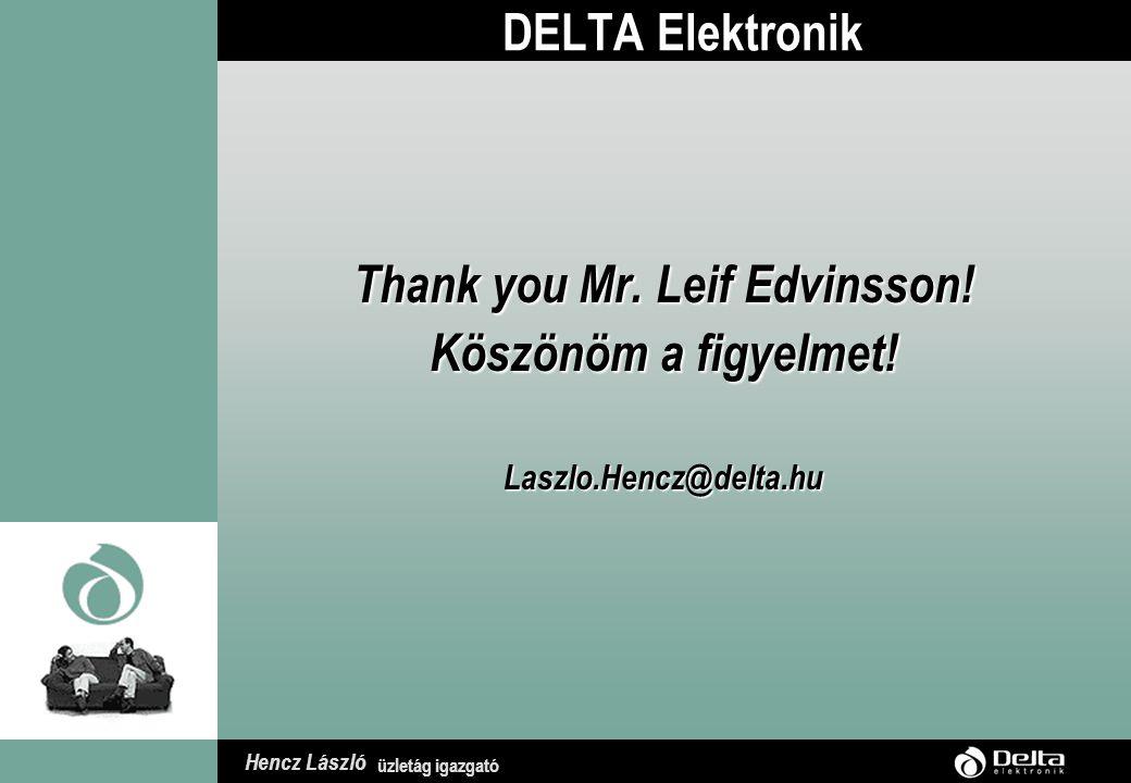 Hencz László üzletág igazgató Elvárt eredmények  Közép Dunántúli régió egy olyan IT K+F mintaprojektet valósít meg, amellyel a régió minden megyéje és kistérsége számára is modellkísérletet végez.