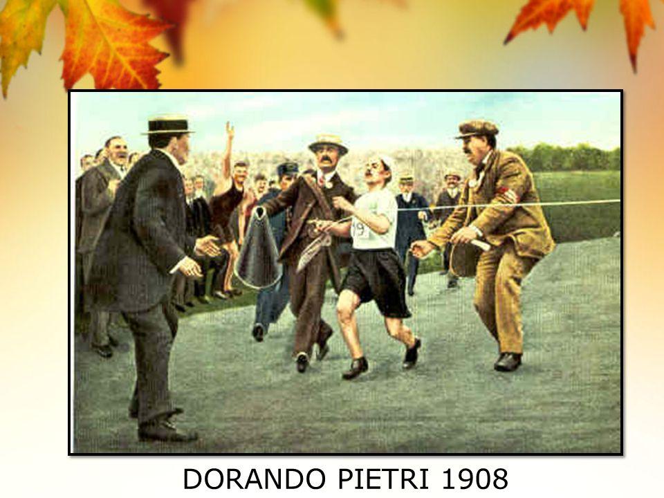 DORANDO PIETRI 1908