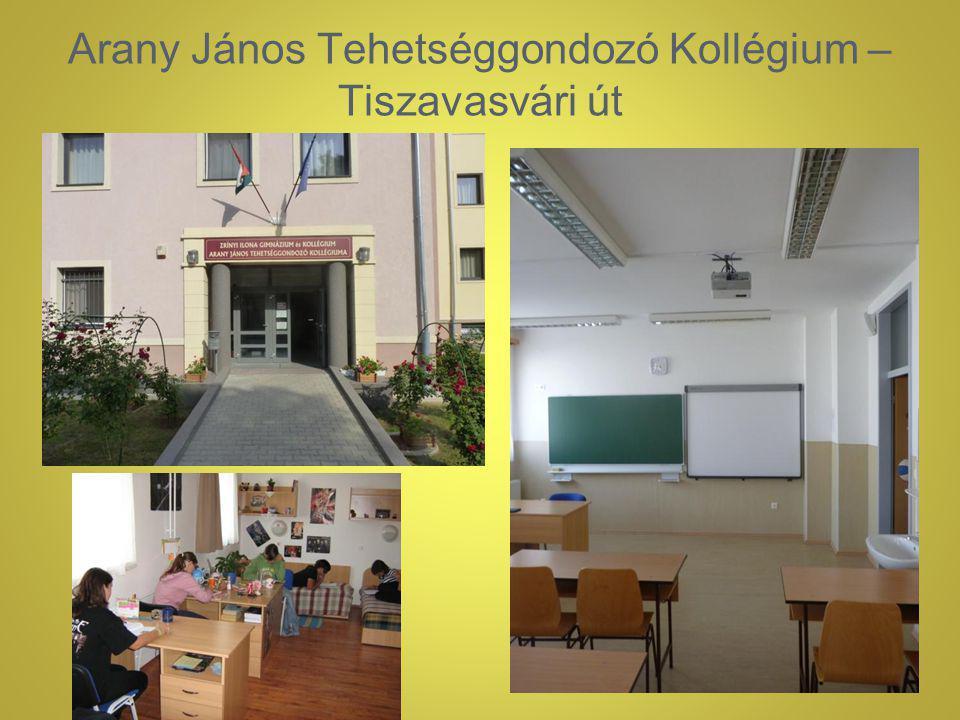 Arany János Tehetséggondozó Kollégium – Tiszavasvári út