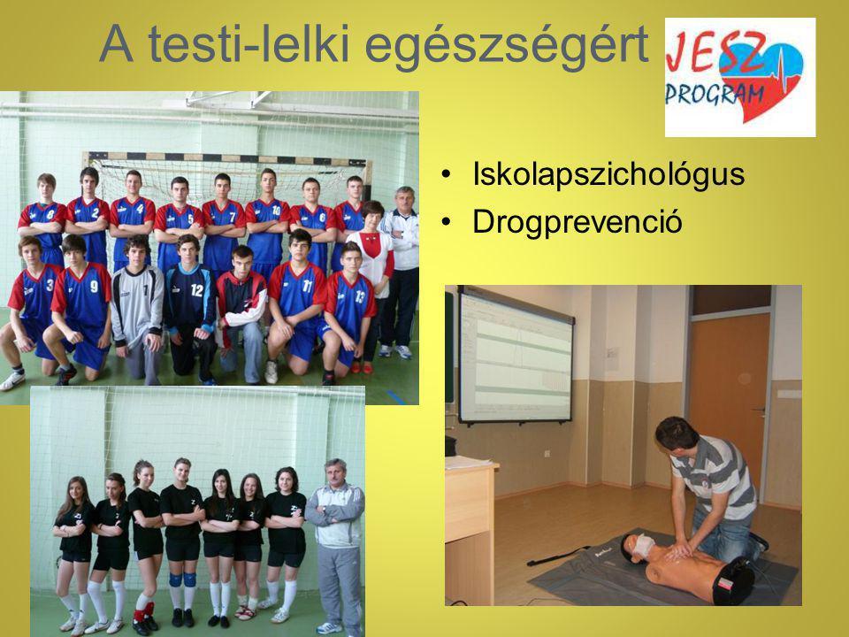 A testi-lelki egészségért Iskolapszichológus Drogprevenció