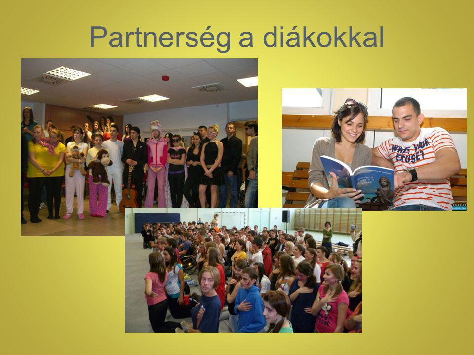 Partnerség a diákokkal