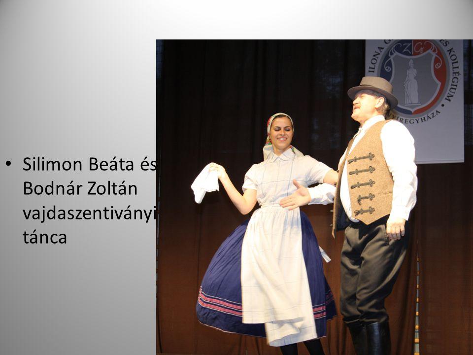 Silimon Beáta és Bodnár Zoltán vajdaszentiványi tánca