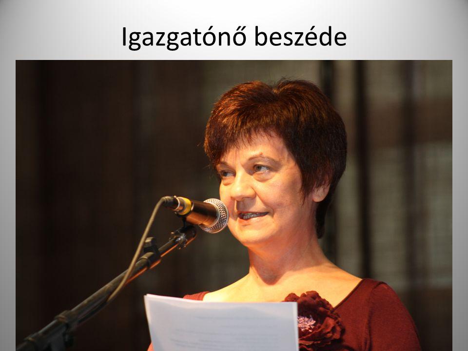 Igazgatónő beszéde