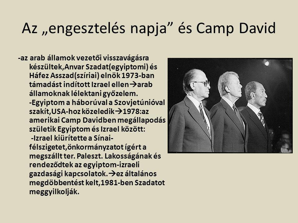 """Az """"engesztelés napja"""" és Camp David -az arab államok vezetői visszavágásra készültek,Anvar Szadat(egyiptomi) és Háfez Asszad(szíriai) elnök 1973-ban"""