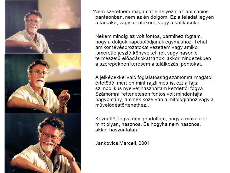 Jankovics Marcell a magyar animációs mozgóképművészet emblematikus személyisége.
