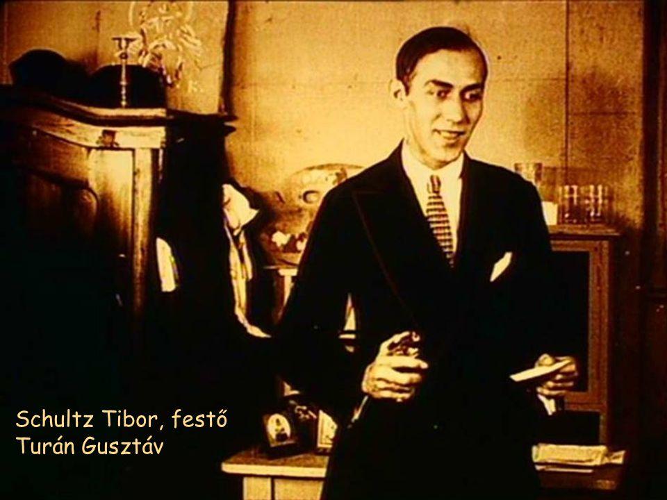 Schultz Tibor, festő Turán Gusztáv