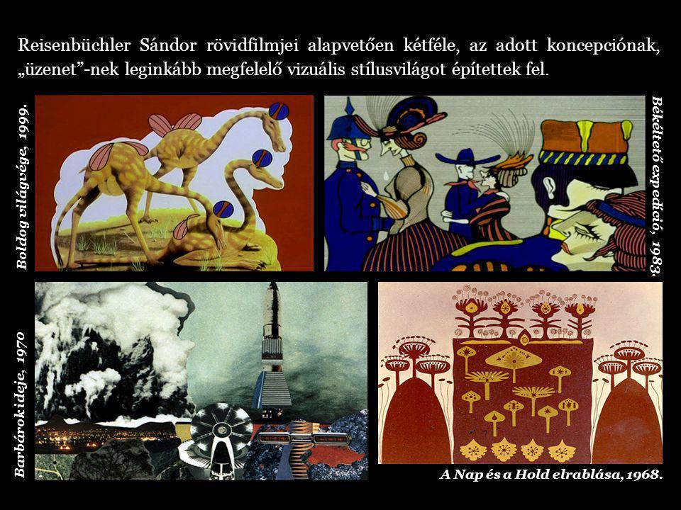 Reisenbüchler filmjeiben a korszak valóságos, gyakran sokkírozó eseményeire, dermesztő jelenségeire, a civilizációs miliő fenyegető prognózisaira hívja fel a figyelmet.