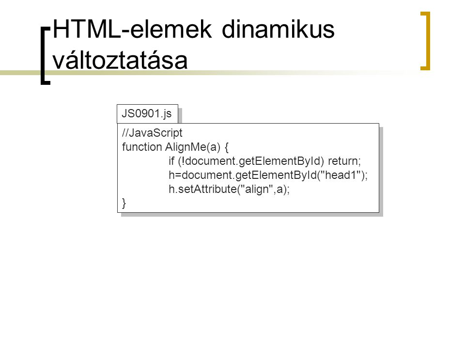 Rétegek használata JS0902.html <!DOCTYPE html PUBLIC -//W3C//DTD XHTML 1.0 Transitional//EN http://www.w3.org/TR/xhtml1/DTD/xhtml1-transitional.dtd > 9.2 feladat 9.2 feladat Első réteg Ez az első réteg.