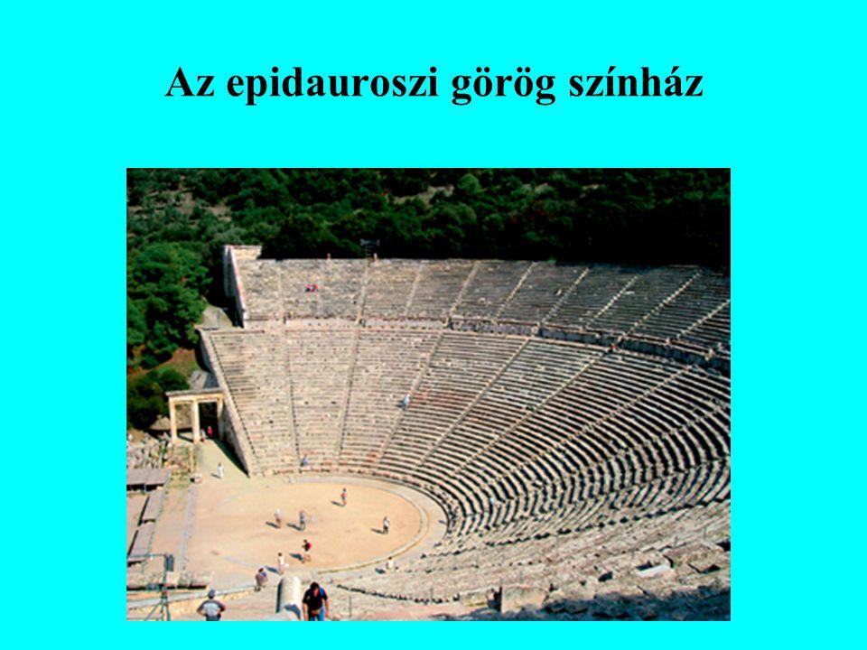 Az epidauroszi görög színház