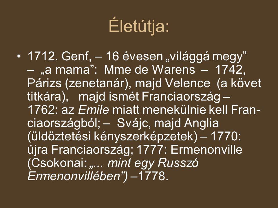 Életútja: 1712.