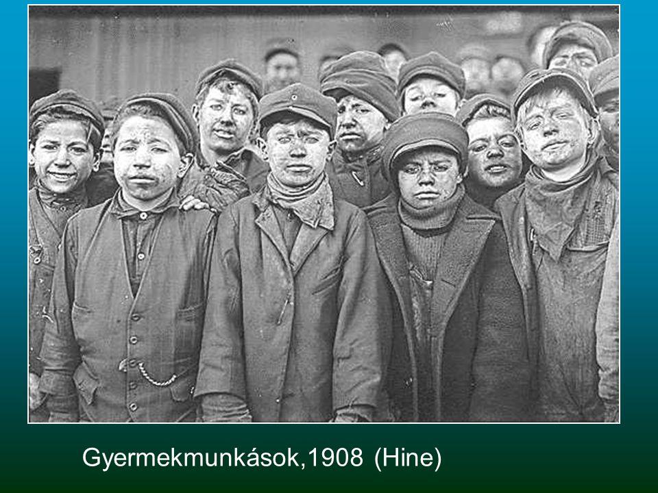 Gyermekmunkások,1908 (Hine)