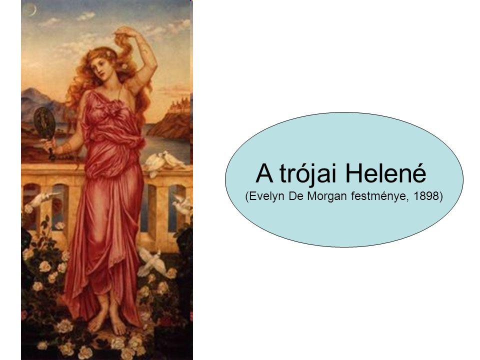 A trójai Helené (Evelyn De Morgan festménye, 1898)
