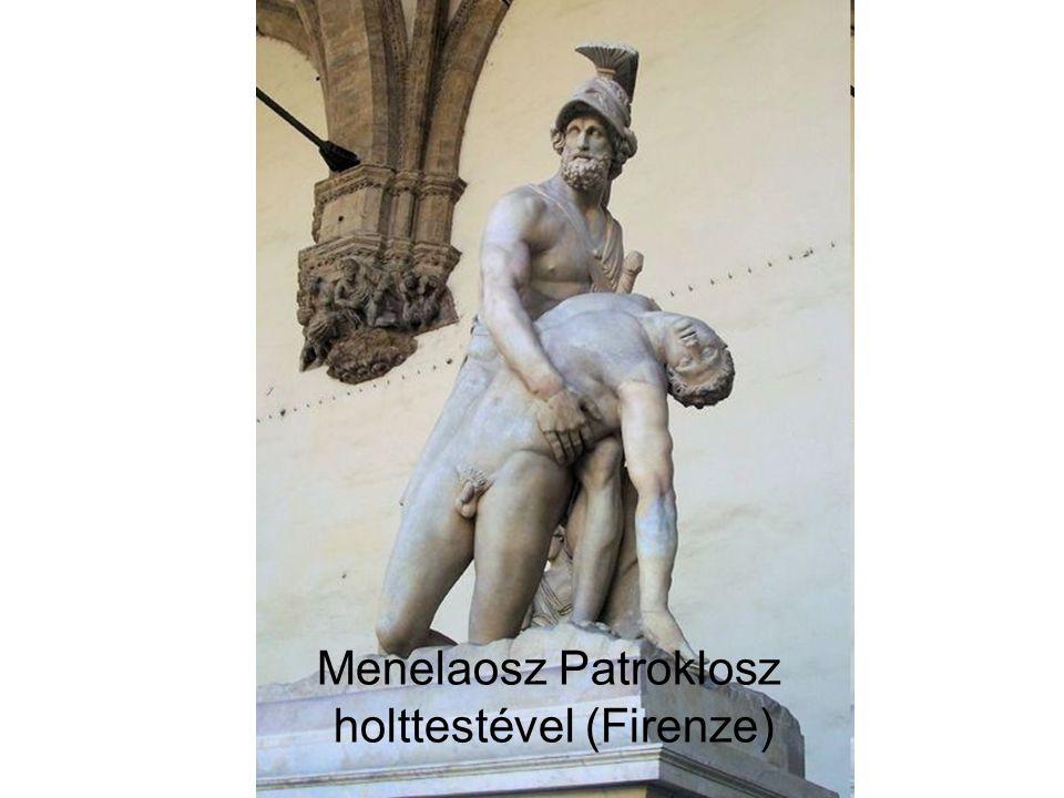 Menelaosz Patroklosz holttestével (Firenze)