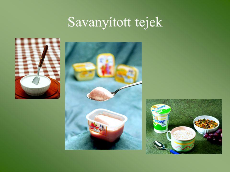 Savanyított tejek
